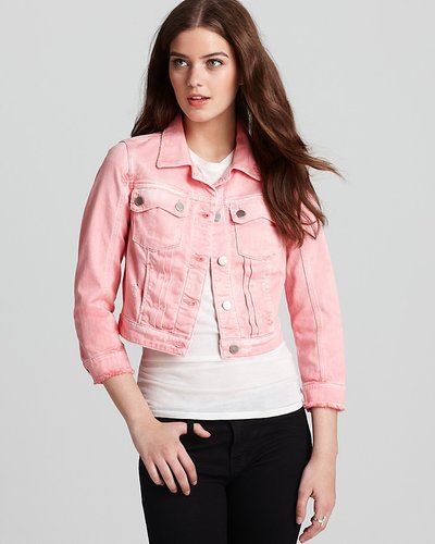 GUESS Jacket - Danni Cropped Denim