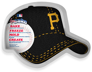 Fan Cake MLB Silicone Cake Pan - Pittsburgh Pirates