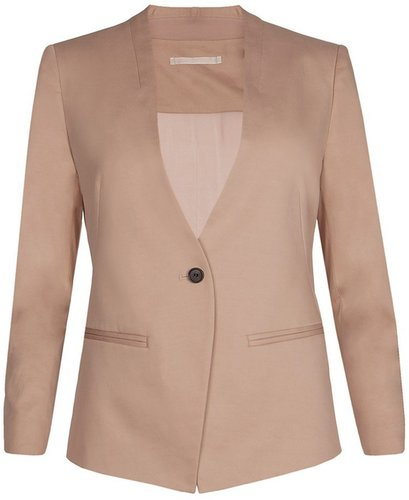 Masson Collarless Blazer