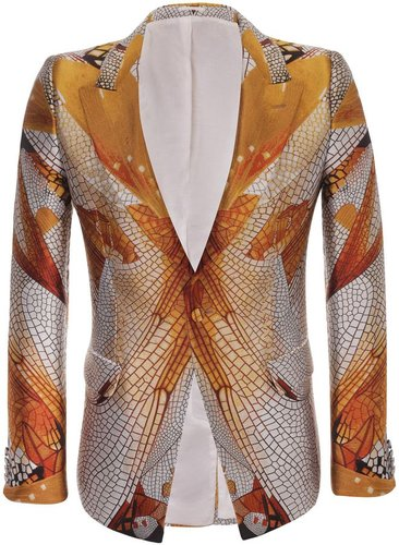 Dragonfly Wing Jacquard Jacket