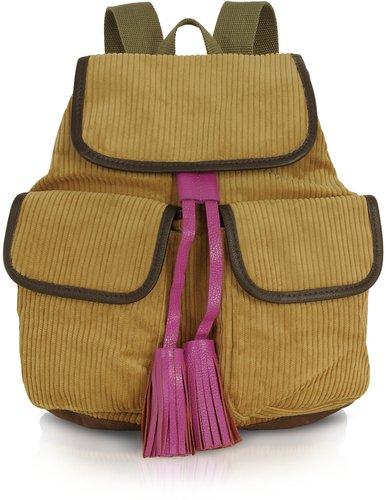 Bensimon Collection Manhattan Line - Corduroy Backpack