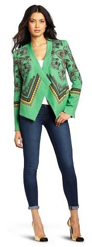BCBGMAXAZRIA Women's Abree Relaxed Jacket