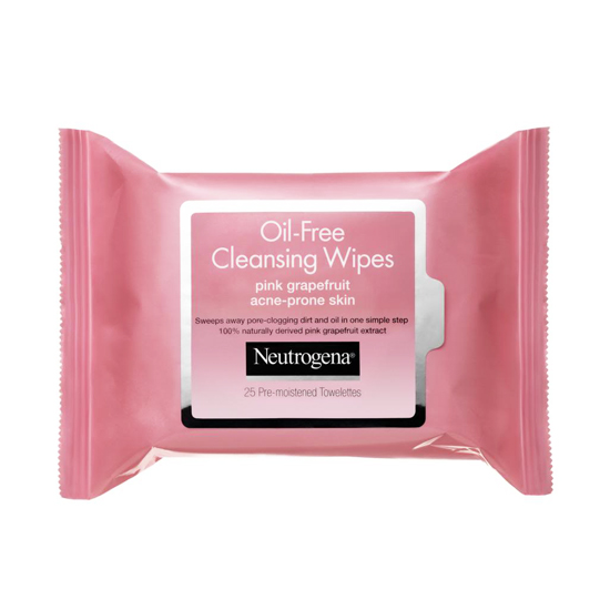 Acne-prone skin needs a little more TLC than the average complexion, and Neutrogena's Oil-Free Cleansing Wipes in Pink Grapefruit ($6) help to remove dirt and oil that can lead to breakouts. Plus, the invigorating grapefruit scent leaves you feeling extra refreshed.