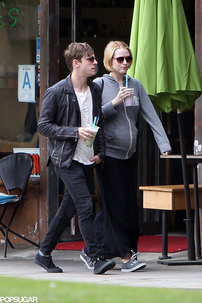 Evan Rachel Wood and Jamie Bell walked in LA together over the weekend.