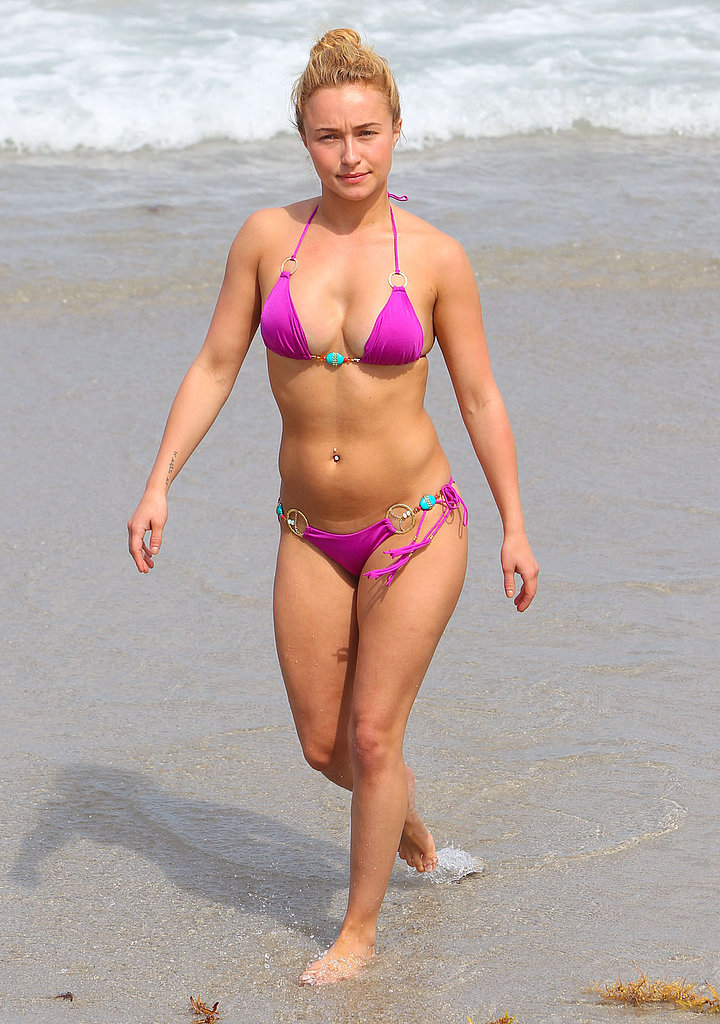 Hayden Panettiere Plays in a Pink Bikini Following Engagement Rumors