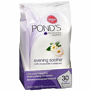 POND'S Wet Cleansing Towelettes, Evening Soothe with Chamomile & White Tea