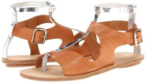 Loeffler Randall - Selma (Dark Camel/Silver) - Footwear