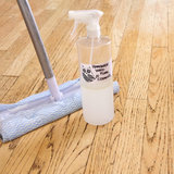Homemade Wood-Floor Cleaner