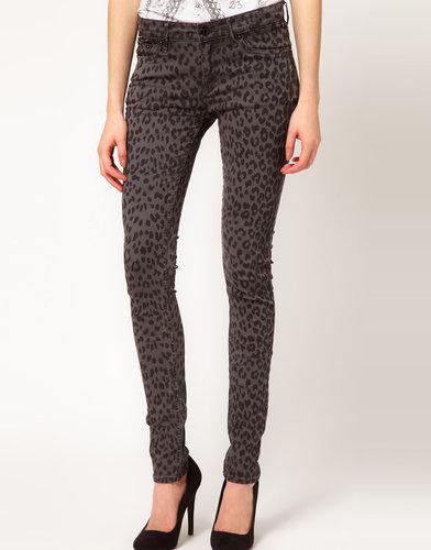 Denham Animal Skinny Jeans