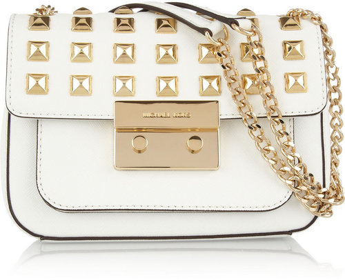 MICHAEL Michael Kors Sloan studded leather shoulder bag