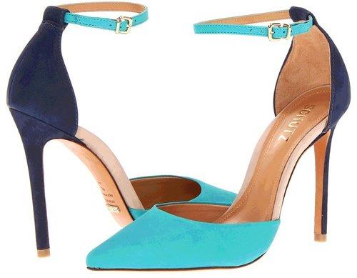 Schutz - Irma (Tropical Green/Anis Nubuck) - Footwear