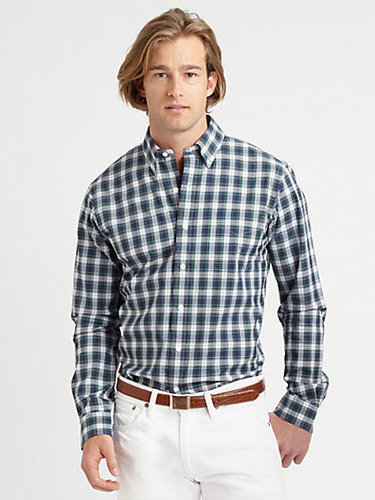 Polo Ralph Lauren Custom-Fit Tartan Sportshirt