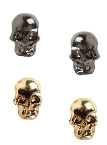 Skull Stud Duo
