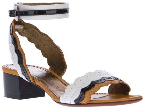 Lanvin ankle strap sandal