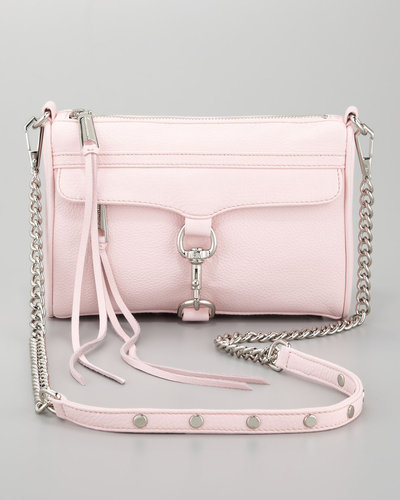 Rebecca Minkoff Mini MAC Crossbody Bag, Petal Pink