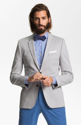HUGO 'Aeris' Trim Fit Cotton Blend Blazer (Online Exclusive)