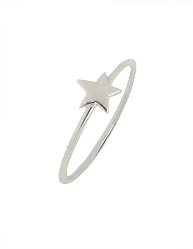 Ariel Gordon Silver Star Ring