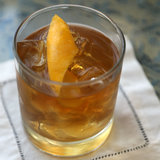 Recipe For Bourbon Old-Fashioned Cocktail