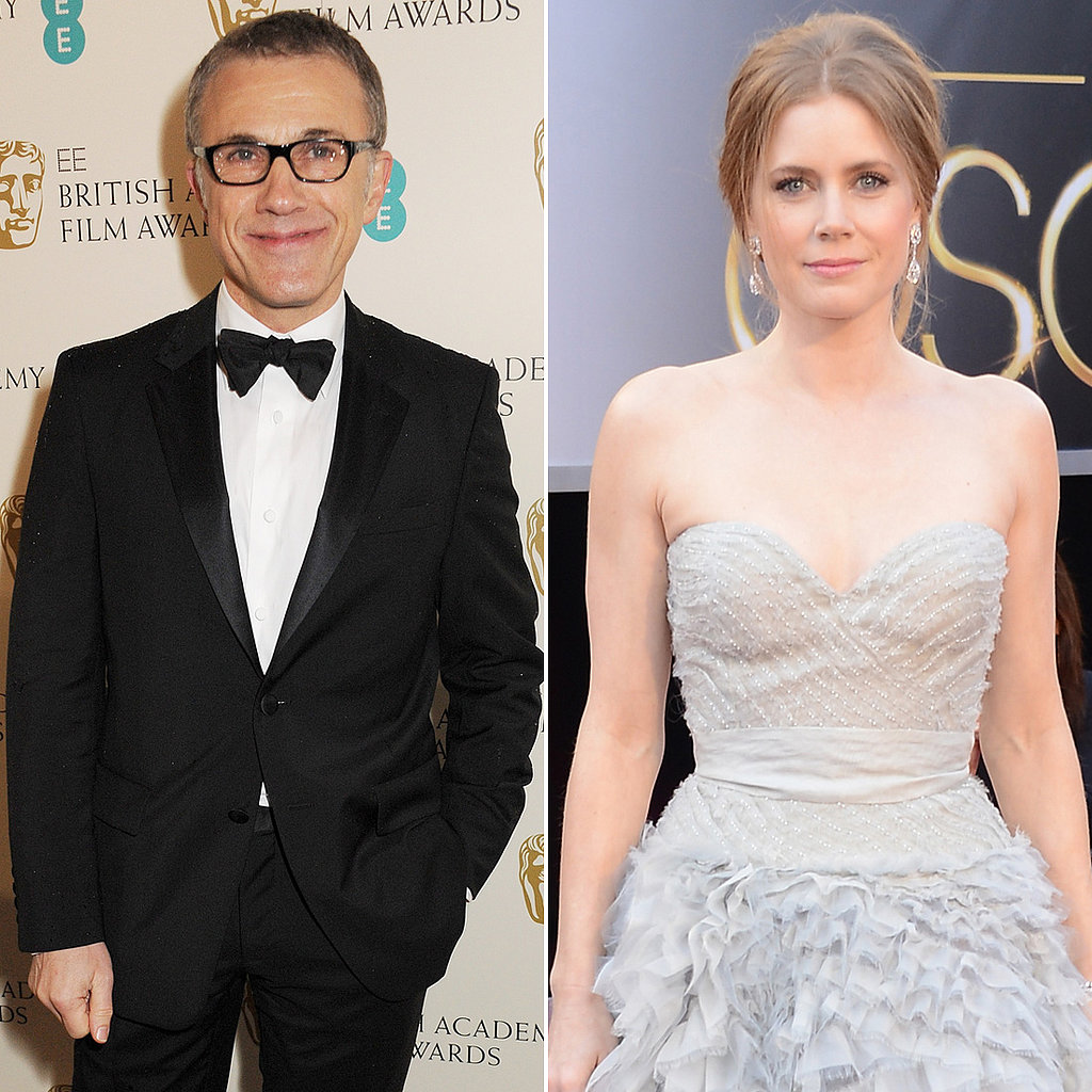 Tim Burton will direct Amy Adams and Christoph Waltz in Big Eyes, about a couple who mass-markets paintings in the '50s and '60s.