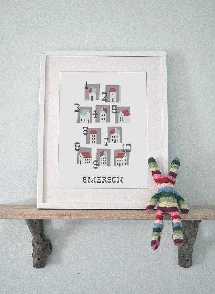 Personalized Numbers Print