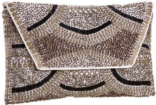 Cleobella Nikko Hand-Beaded Envelope Clutch