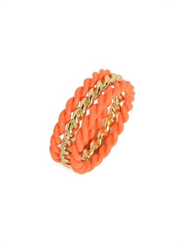 Tangelo Twist Ring Trio