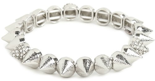 Silver Ice Cone Bracelet