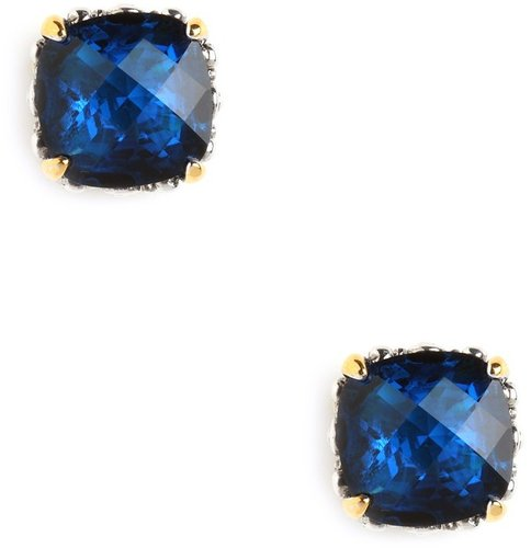 Tanzanite Cushion Cut Studs
