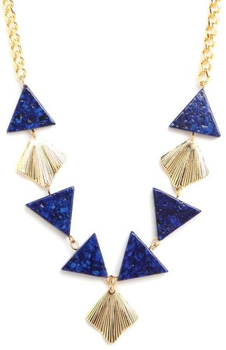 Blue Deco Necklace
