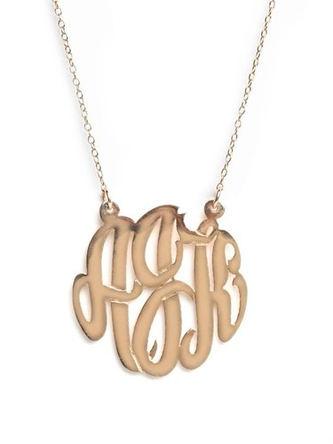 Medium Monogram (Ships 4 Weeks from Order Date)