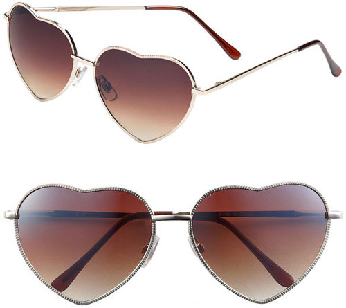 BP. Heart Shaped Sunglasses