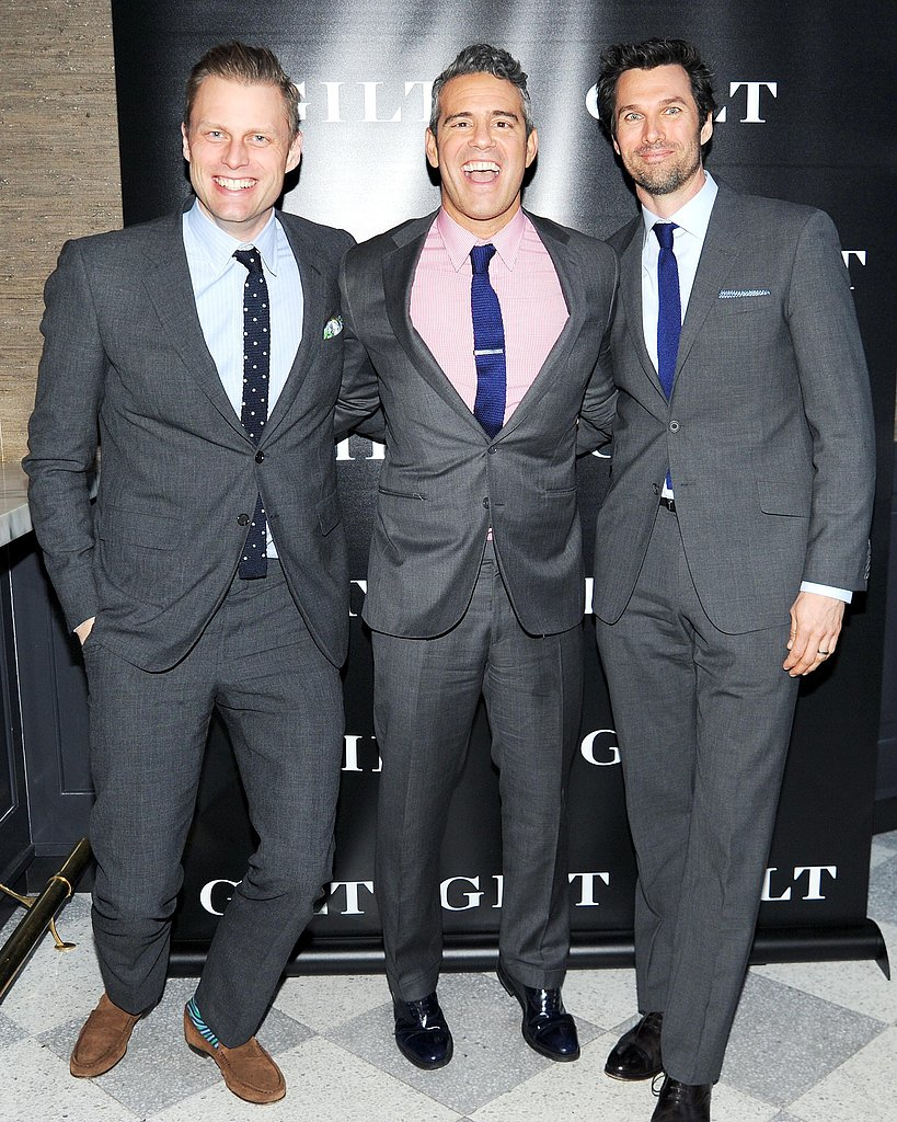 Tyler Thoreson, Andy Cohen, and Keith George