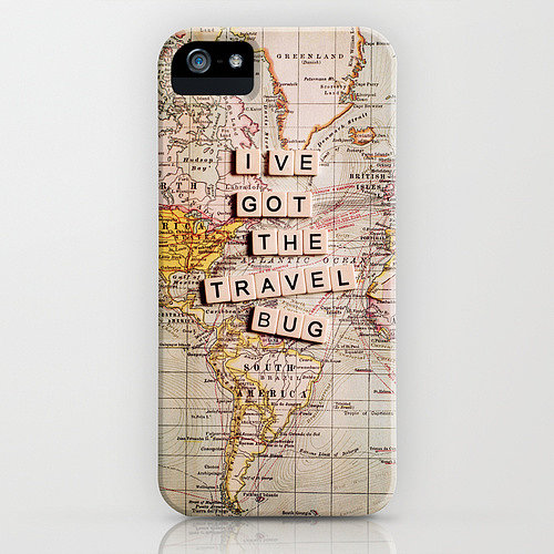 Got the travel bug? Then this fun map iPhone case ($35) is the one for you.