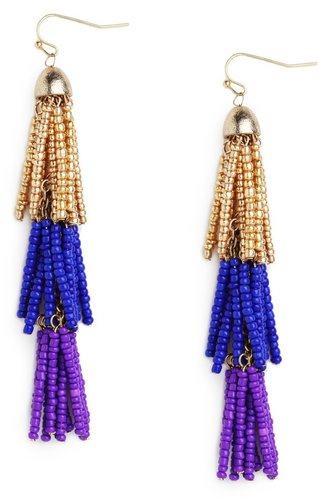 Triple Tassel Drops