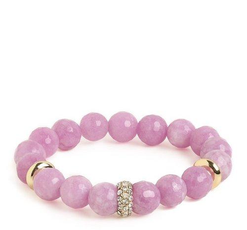 Lavender Mala Bracelet