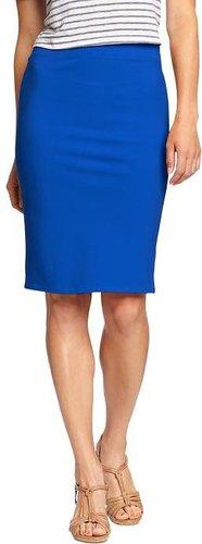 Women's Jersey Pencil Skirts