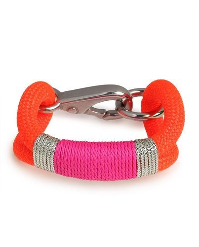 The Ropes Maine Orange Kennebunkport Bracelet