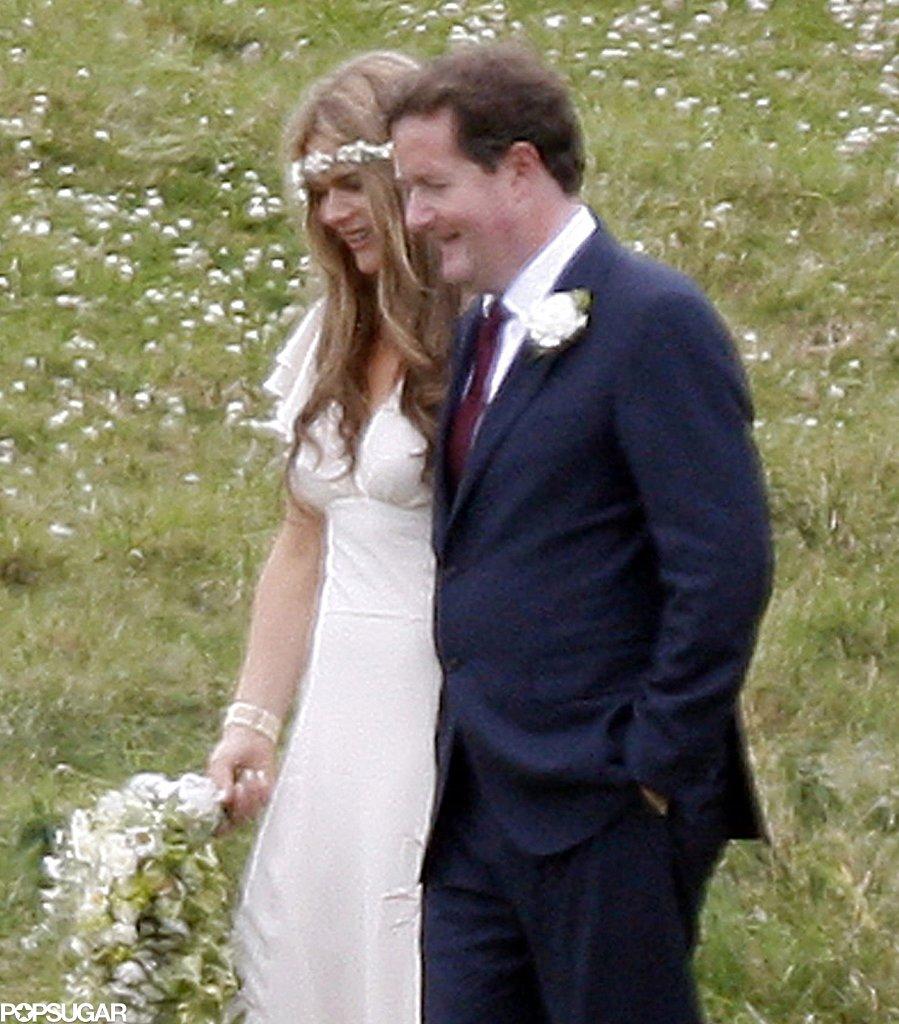 Piers Morgan married Celia Walden in England in June 2010.