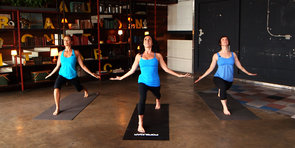 Mandy Ingber's 10-Minute Yoga Series For Happiness