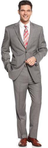 Jones New York Suit, Grey Windowpane