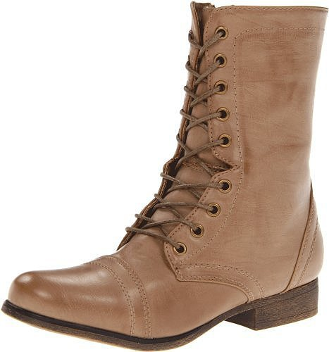 Madden Girl Women's Gamer Lace-Up Boot