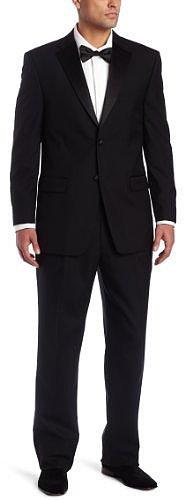 Jones New York Men's Two Button Double Pleated Tuxedo