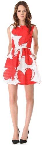 Alice + olivia Puff Skirt Dress