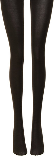 Wolford Cotton Velvet Tights - Anthracite Mele