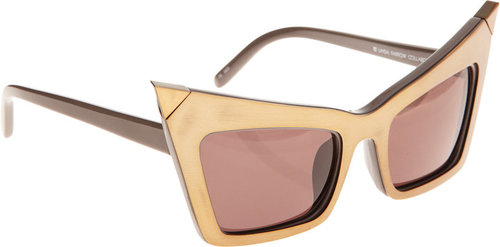 Alexander Wang Extreme Cat Eye Sunglasses
