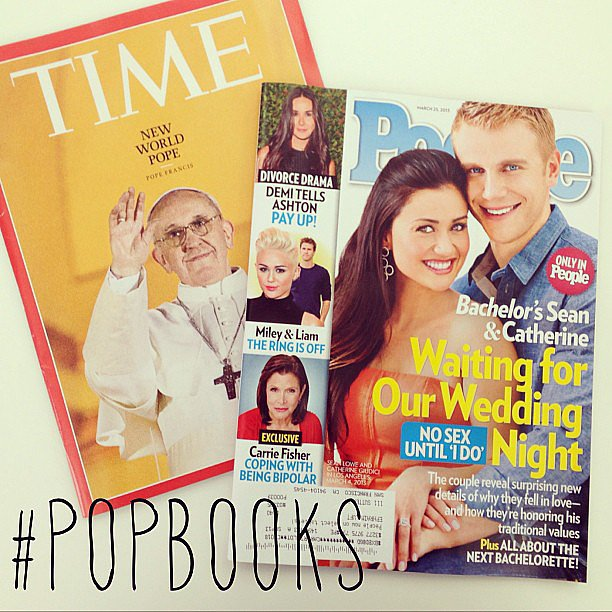 We posted a pic of some must-read magazines on the POPSUGAR Love & Sex Instagram.