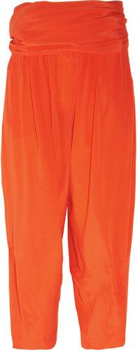 3.1 Phillip Lim Silk crepe de chine wide-leg gaucho pants