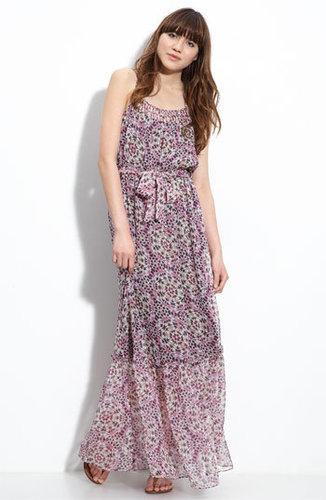 Charlie Jade Printed Silk Maxi Dress