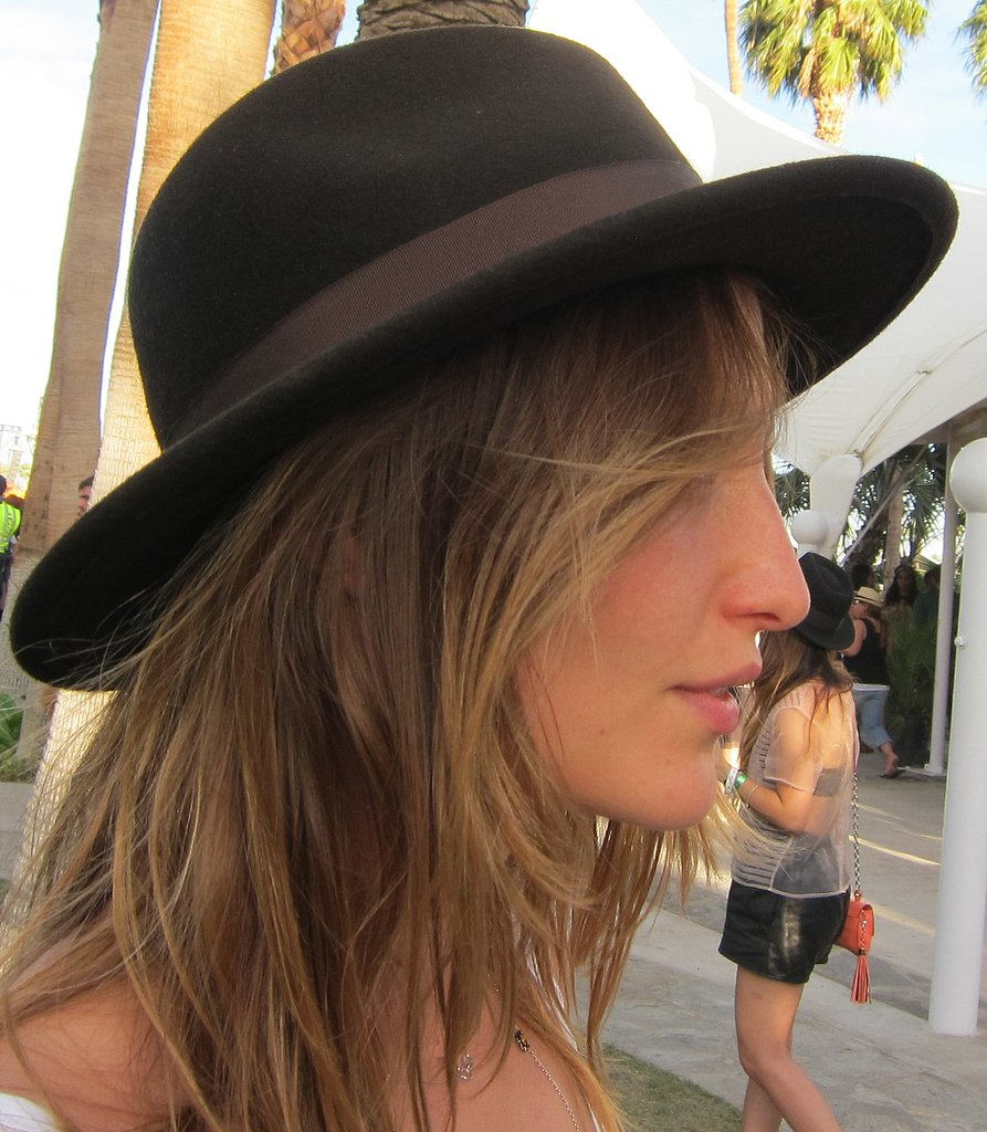 A sweet chapeau helps you cover up from the sun. Photo: Meg Cuna