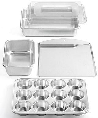 Nordicware Commercial Bakeware, 5 Piece Set